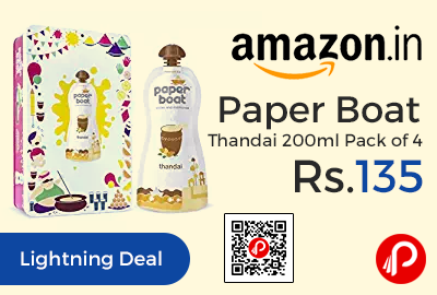 Paper Boat Thandai 200ml