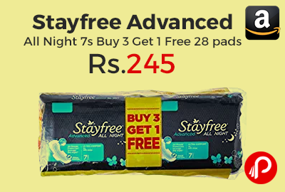 Stayfree Advanced All Night 7s