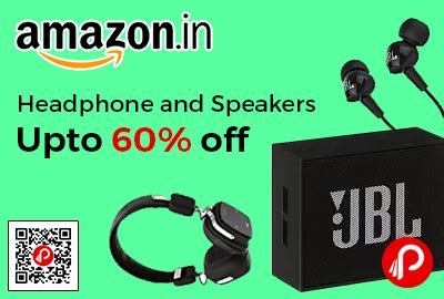 Headphone and Speakers