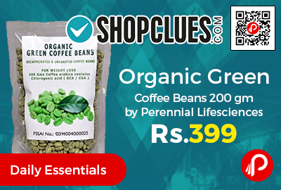 Organic Green Coffee Beans 200 gm