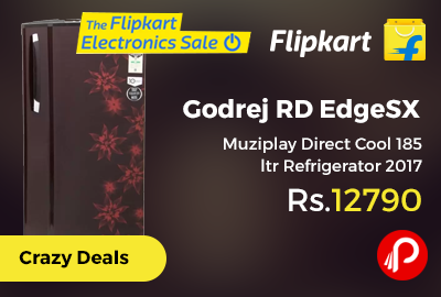 Godrej RD EdgeSX Muziplay Direct Cool 185 ltr Refrigerator 2017