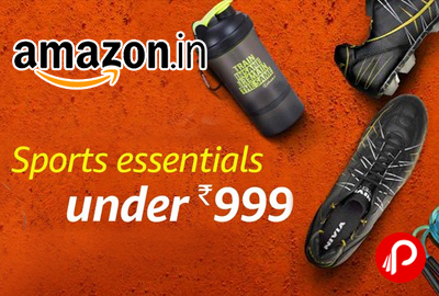 Sports Essentials on a Budget all products under 999