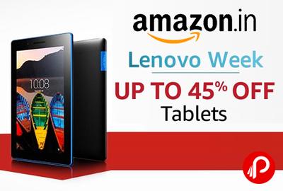 Lenovo Week - Lenovo Tablets
