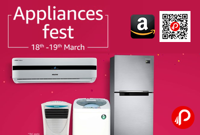 Appliances Fest 18th -19th