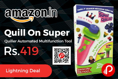Quill On Super Quiller Automated Multifunction Tool