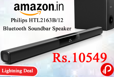 Philips HTL2163B/12 Bluetooth Soundbar Speaker