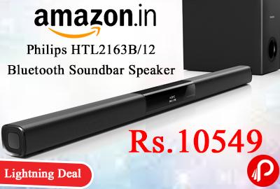 Philips HTL2163B/12 Bluetooth Soundbar Speaker