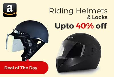 Riding Helmets & Locks