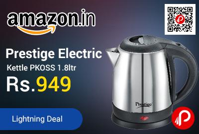 Prestige Electric Kettle PKOSS 1.8ltr