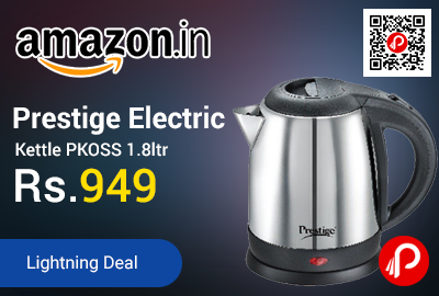 Prestige Electric Kettle PKOSS 1.8ltr