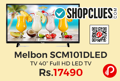 "Melbon SCM101DLED TV 40"" Full HD LED TV"