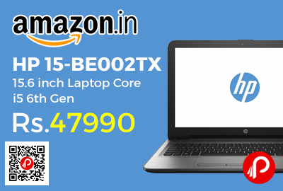 HP 15-BE002TX 15.6 inch Laptop Core i5 6th Gen