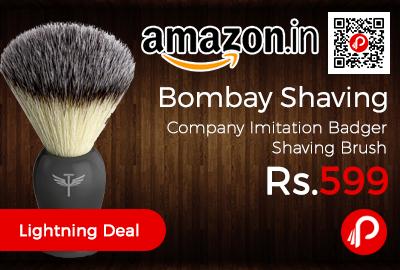 Bombay Shaving Company Imitation Badger Shaving Brush
