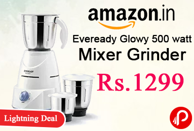 Eveready Glowy 500 watt Mixer Grinder
