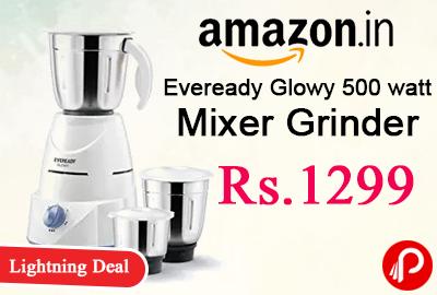 Eveready Glowy 500 watt Mixer Grinder