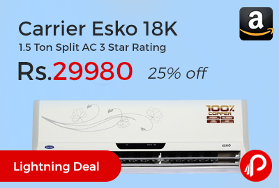 Carrier Esko 18K 1.5 Ton Split AC
