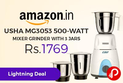 Usha MG3053 500 watt Mixer Grinder