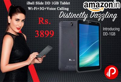 iBall Slide DD 1GB Tablet