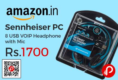 Sennheiser PC 8 USB VOIP Headphone with Mic
