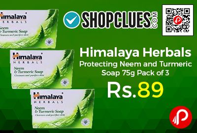 Himalaya Herbals Protecting Neem and Turmeric Soap 75g