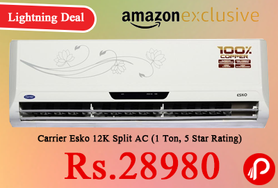 635b740e394 Carrier Esko 12K Split AC lowest price - Best Online Shopping deals ...