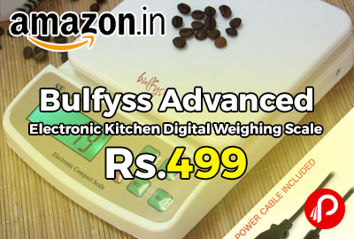 Bulfyss Advanced Electronic Kitchen Digital Weighing Scale