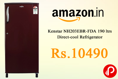 Kenstar NH203EBR-FDA 190 ltrs Direct-cool Refrigerator