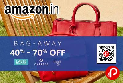 Bag Away Sale Lavie, Caprese, Baggit
