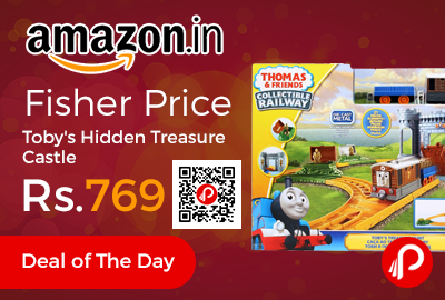 Fisher Price Toby's Hidden Treasure Castle