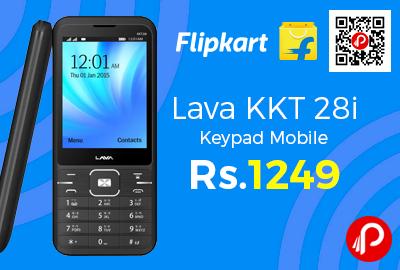 Lava KKT 28i Keypad Mobile