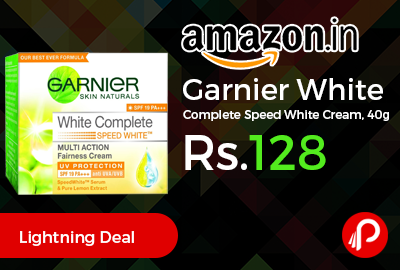 Garnier White Complete Speed White Cream
