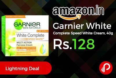 Garnier White Complete Speed White Cream