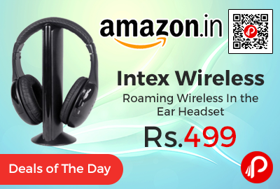 Intex Wireless Roaming Wireless Headset