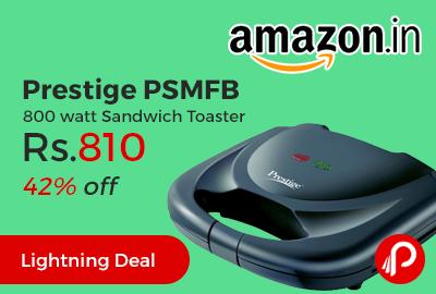3bd2f594d03 Prestige PSMFB 800 watt Sandwich Toaster lowest prices - Best Online ...