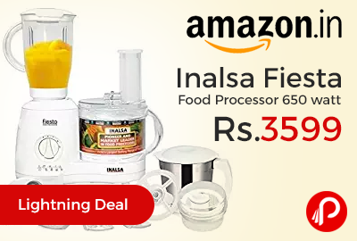 Inalsa Fiesta Food Processor 650 watt
