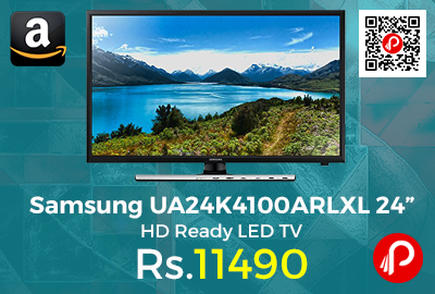 "Samsung UA24K4100ARLXL 24"" HD Ready LED TV"