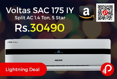 Voltas SAC 175 IY Split AC 1.4 Ton, 5 Star