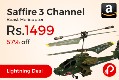 Saffire 3 Channel Beast Helicopter