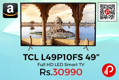 "TCL L49P10FS 49"" Full HD LED Smart TV"