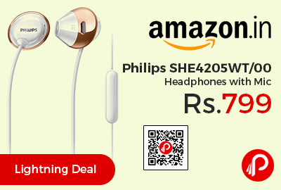 Philips SHE4205WT/00 Headphones
