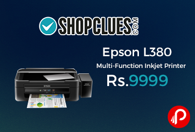 Epson L380 Multi-Function Inkjet Printer