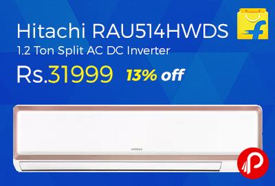 Hitachi RAU514HWDS 1.2 Ton Split AC DC Inverter