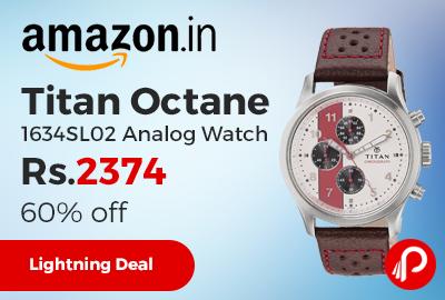Titan Octane 1634SL02 Analog Watch