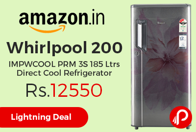 Whirlpool 200 IMPWCOOL PRM 3S 185 Ltrs Direct Cool Refrigerator