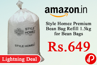 Style Homez Premium Bean Bag Refill 1.5kg for Bean Bags