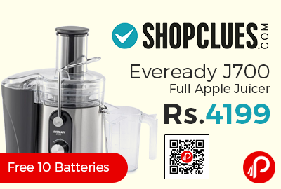 Eveready J700 Full Apple Juicer