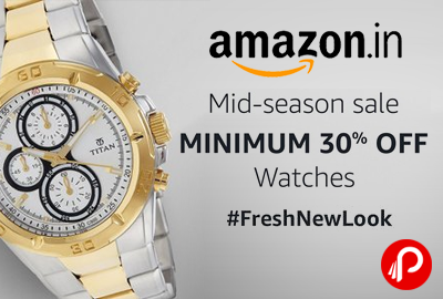 Amazon #freshnewlook Mid-Season Sale
