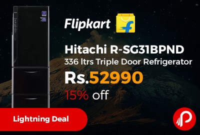 Hitachi R-SG31BPND 336 ltrs Triple Door Refrigerator