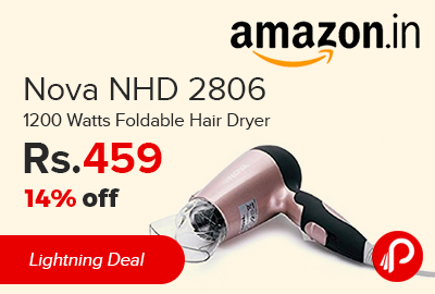 Nova NHD 2806 1200 Watts Foldable Hair Dryer