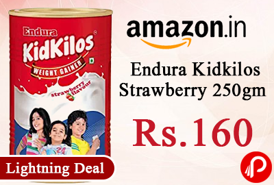 Endura Kidkilos Strawberry 250gm